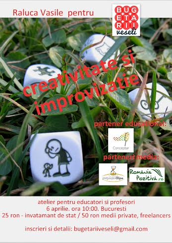 WORKSHOP DE CREATIVITATE SI IMPROVIZATIE